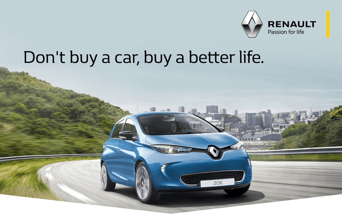 Don't buy a car, buy a better life